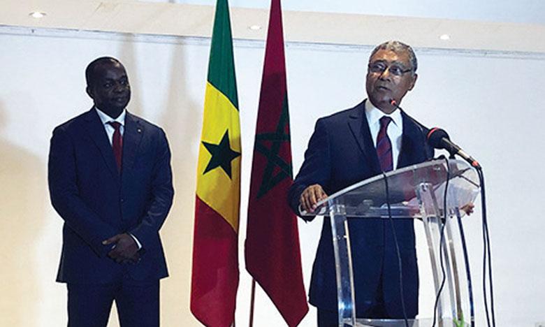 Réception à Dakar à l'occasion de la Fête du Trône