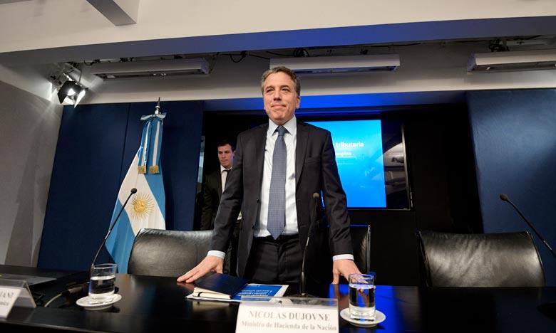Le ministre argentin des Finances jette l'éponge