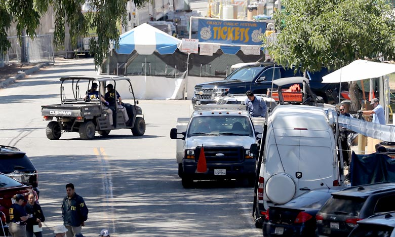 Un enfant de 6 ans, une adolescente de 13 ans et un jeune homme de 25 ans ont été tués par un jeune homme de 19 ans, Santino William Legan, lors d'un festival à Gilroy, en Californie. Ph : AFP