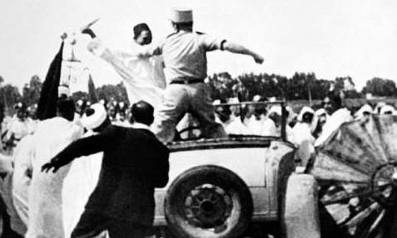 La manifestation du Méchouar de 1953 à Marrakech, une page radieuse de l'épopée mémorable de la résistance nationale