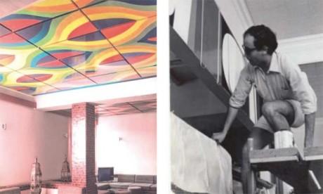 Le Musée d'art  contemporain africain  Al  Maaden  de  Marrakech présente les étapes phares de la carrière de Melehi