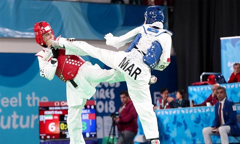 Huit taekwondoïstes, membres des sélections marocaines hommes et dames, défendent les couleurs nationales au championnat du monde à Tachkent, en Ouzbékistan. Ph : DR