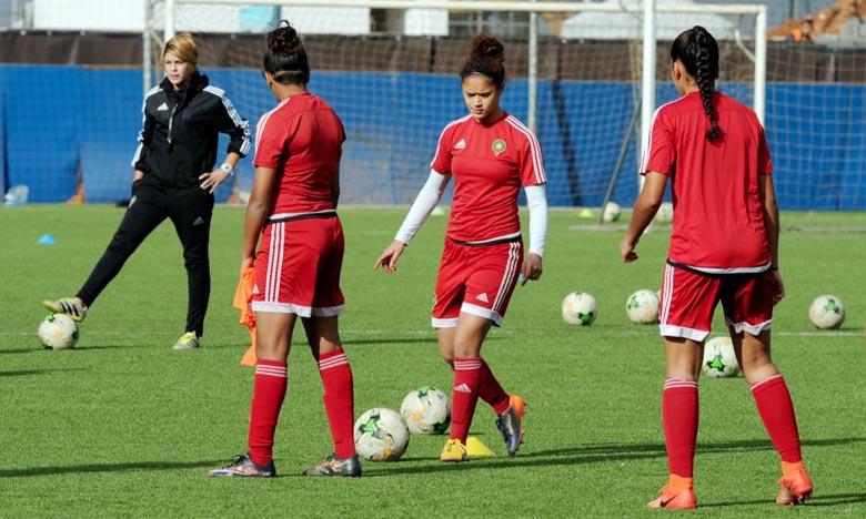 La sélection nationale féminine de football des moins de 20 ans (U20) affronteront la Guinée Équatoriale lors de la deuxième journée. Ph : frmf.ma