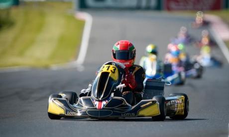 Suleiman Zanfari au Championnat du monde FIA de karting 2019