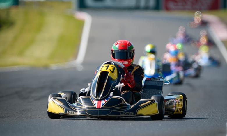 Le pilote marocain Suleiman Zanfari a entamé sa préparation à cette compétition en disputant et remportant   le championnat de Suède aux épreuves OK-Juniors 2019, sur le circuit de Kristianstad. Ph : DR