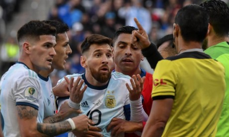 Messi suspendu pour trois mois en sélection nationale
