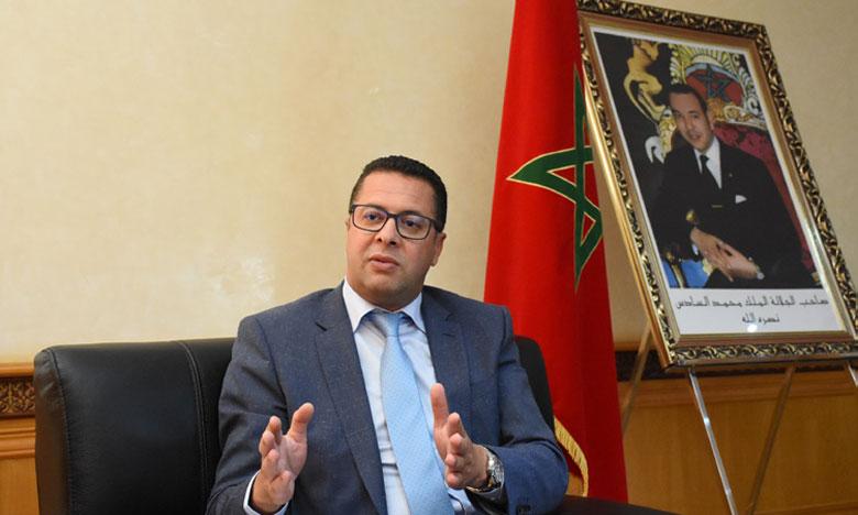 Mohammed Rharras, secrétaire d'État chargé de la Formation professionnelle. Ph. Kartouch
