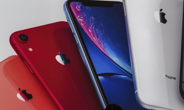 L'apparence des iPhones Pro ne subira pas de changements majeurs et sera identique aux modèles actuels sauf pour certaines couleurs. Ph. AFP