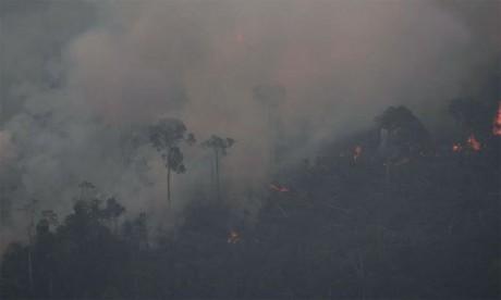 Des centaines de nouveaux feux, vive émotion planétaire