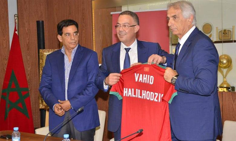 Vahid Halilhodzic : «Nous devons souffrir tous ensemble pour atteindre nos objectifs»