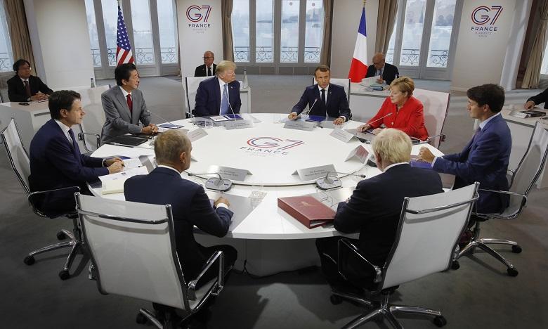 G7 : oui pour renforcer la coordination avec la Russie