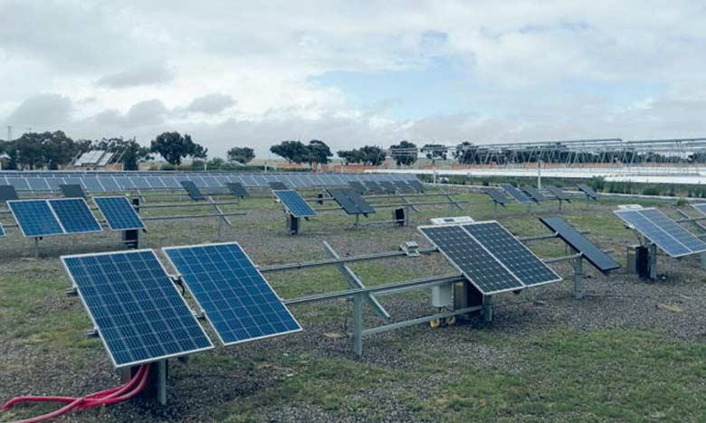 Enel Green Power et l'IRESEN ont signé un partenariat de coopération sur la rechercher, la fabrication et le stockage de l'énergie renouvelable.  Ph. Seddik
