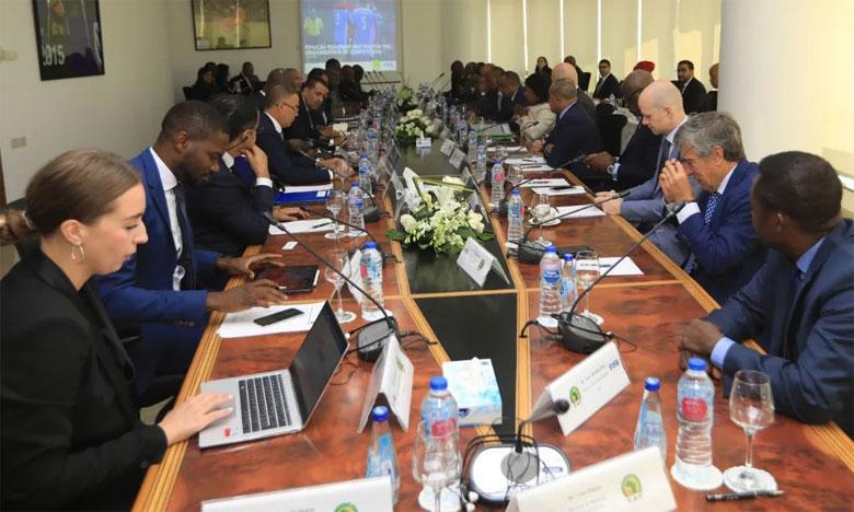 La CAF et la FIFA se réunissent avec les représentants des clubs africains