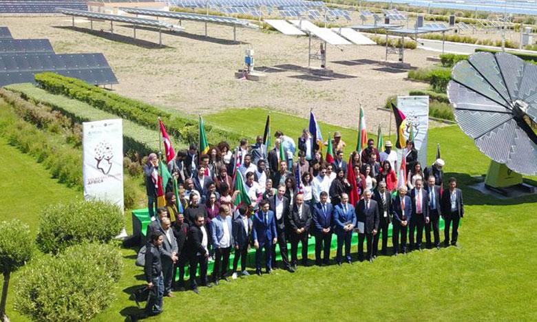 Le projet de construction d'une maison écologique marocaine traditionnelle représente l'USMBA de Fès  à la première édition du «Décathlon Solar Africa»