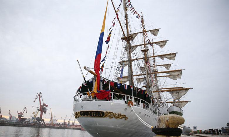 Le navire colombien «Gloria»  fait escale à Casablanca
