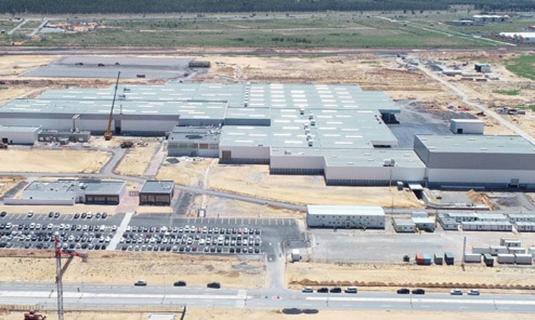 Exclusif   PSA - Maroc La BERD mise 75 millions d'euros  pour l'extension de  l'usine de Kénitra