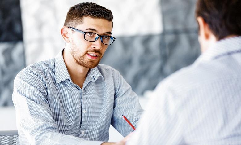 Lors du face à face, soyez confiant, souriant et surtout restez calme, quelle que soit la réponse du manager. Ph : shutterstock.