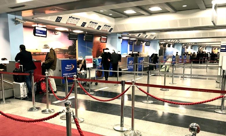 La suppression de la fiche d'embarquement-débarquemen, vise à faciliter les procédures de voyage et à fluidifier davantage le passage au niveau des postes frontières, outre la réduction du temps de contrôle. Ph : DR