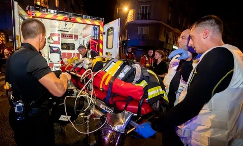 Paris :  Incendie meurtrier dans une maison de retraite