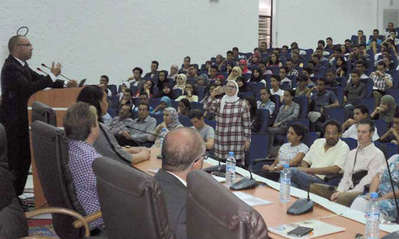 Le Matin - Stage d'intégration des nouveaux bacheliers  de la Faculté des sciences Semlalia de Marrakech