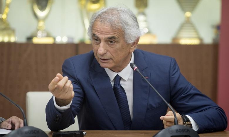 Vahid Halilhodzic: seul le mérite compte pour faire partie de la sélection