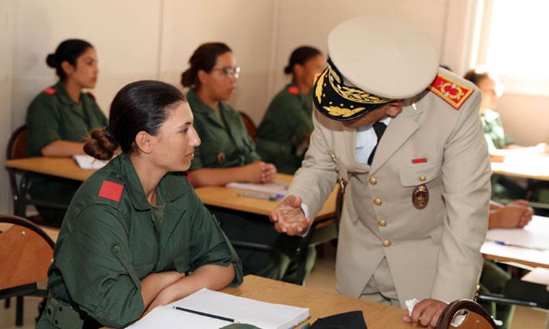 Début de formation au premier CRFI d'El Hajeb au profit de 3.400 appelés, dont 250 féminins