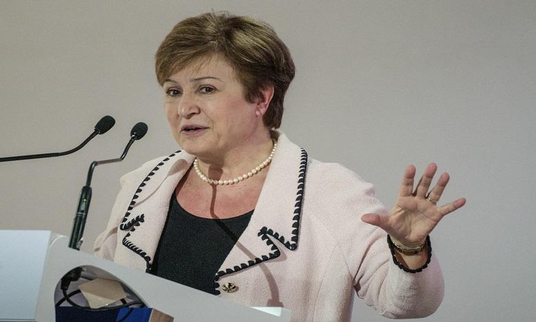 Kristalina Georgieva. Ph. AFP