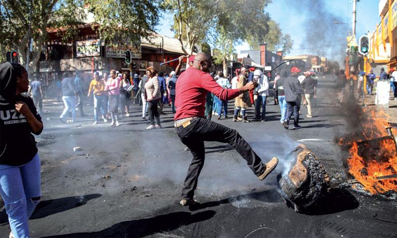 La violence xénophobe, la face sombre du pays  de Nelson Mandela