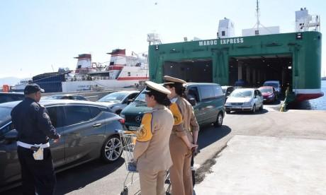 Marhaba 2019: 2,5 millions de passagers ont transité via quatre ports marocains