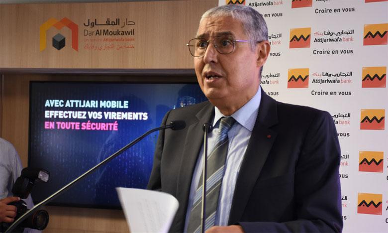 La cérémonie d'inauguration de Dar Al Moukawil Casablanca Centre a été marquée par la signature de 3 conventions. Ph. Seddik