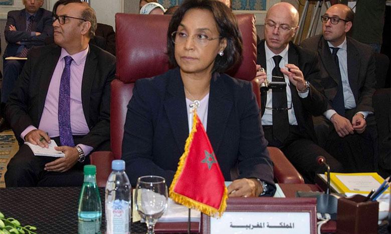 La secrétaire d'État auprès du ministre des Affaires étrangères et de la coopération internationale, Mounia Boucetta, préside la délégation marocaine à la 152e session du Conseil de la Ligue des États arabes au niveau ministériel.