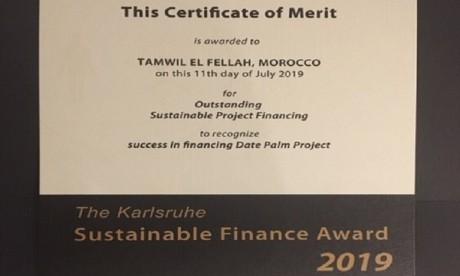 Tamwil El Fellah primé pour ses engagements envers les agriculteurs