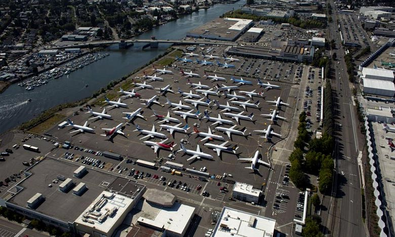 Boeing est sur le point de «finaliser» le développement d'un correctif du système anti-décrochage MCAS du 737 MAX dont le fonctionnement a été mis en cause dans la tragédie de Lion Air. Ph :  AFP