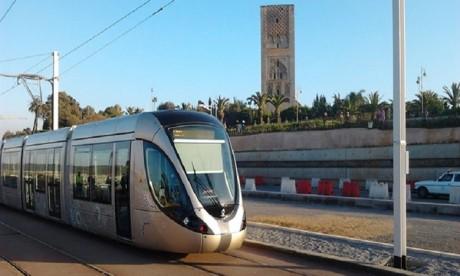 Tramway de Rabat-Salé : l'Avenue Ain Houala à Salé temporairement bloquée