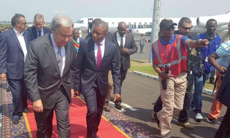 Antonio Guterres pour un financement  de la force du G5 Sahel par les Nations unies