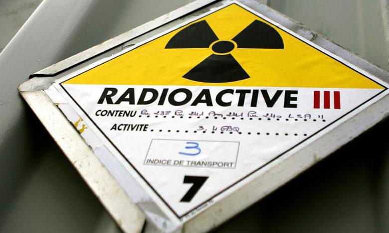 Pour Greenpeace, un certain nombre de substances radioactives devraient être classées comme déchets et non pas comme matières. Ph. AFP