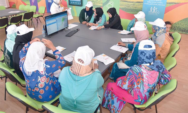«Al Moutmir itinérant» chez les agriculteurs de Oued Zem