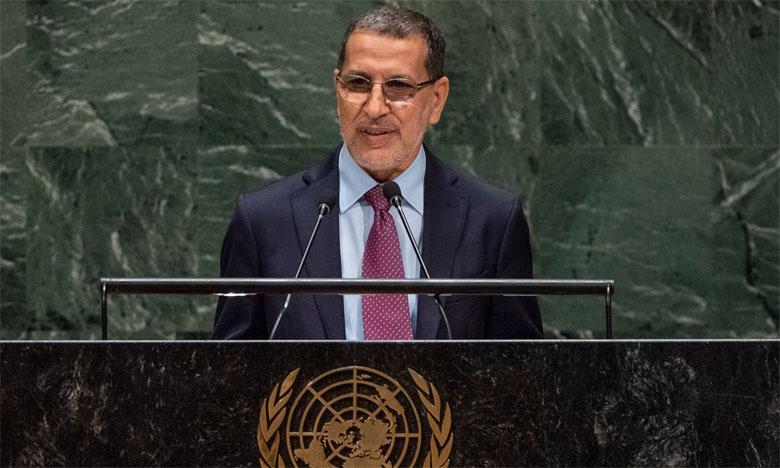 Saâd Eddine El Othmani réaffirme à New York l'attachement du Maroc, sous le leadership de S.M. le Roi Mohammed VI, au multilatéralisme pour affronter les défis mondiaux