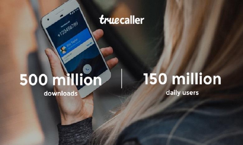 Truecaller atteint les 500 millions de téléchargements