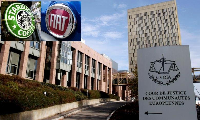 Starbucks et Fiat face à la justice de l'UE