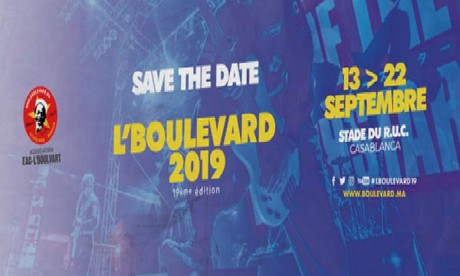 L'Boulevard sera de retour du 13 au 22 septembre à Casablanca