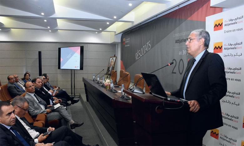 Selon le PDG du groupe, Mohamed El Kettani, la part de la banque digitale dans les transactions enregistrées par Attijariwafa bank s'élève à 75,5% à fin juin 2019. Ph. Seddik