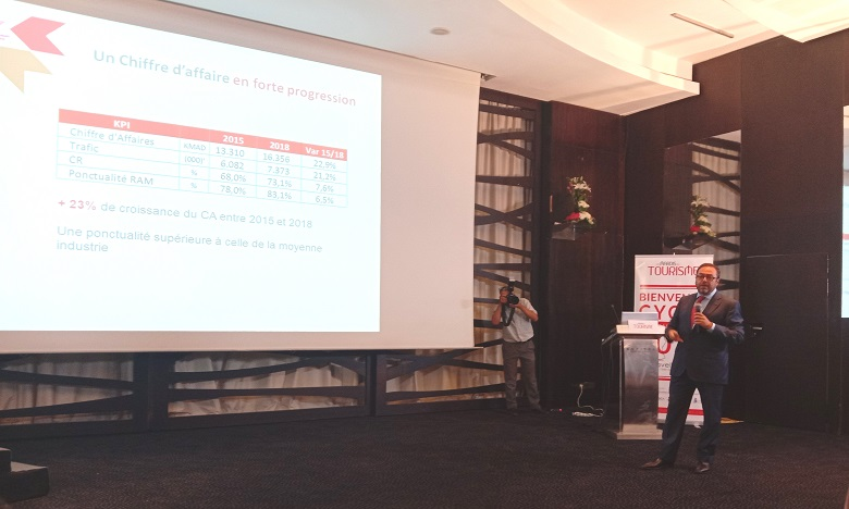 Invité par Premium Travel News dans le cadre de son cycle de conférences «Les mardis du tourisme», Abdelhamid Addou a dévoilé les grandes lignes de son plan de développement pour la RAM. Ph. DR