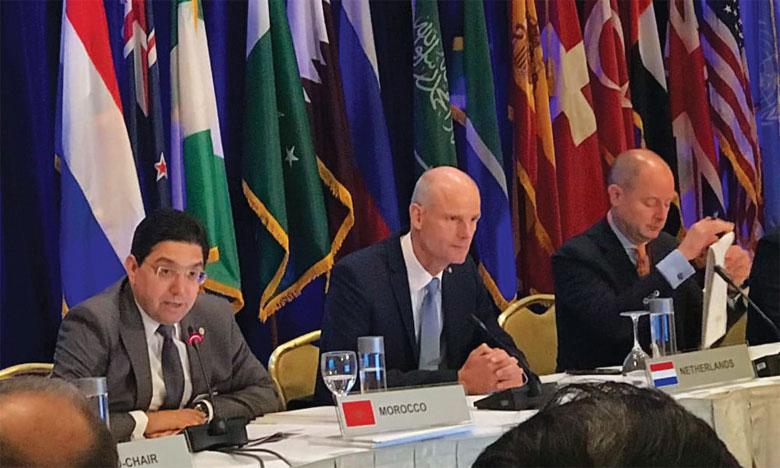 Le Maroc souligne à New York la «nécessité absolue» de maintenir un engagement fort dans la lutte antiterroriste