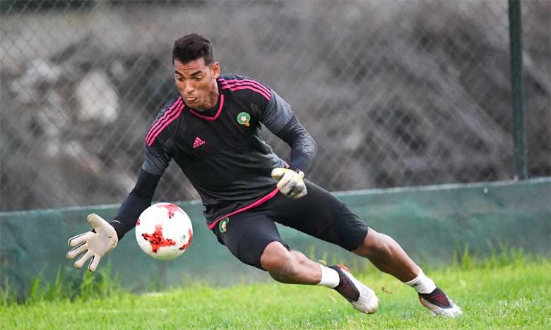 Le keeper du WAC soutient qu'il s'était blessé la veille du match Algérie-Maroc, mais sa version des faits n'a pas été entendue par la Fédération. Ph. FRMF