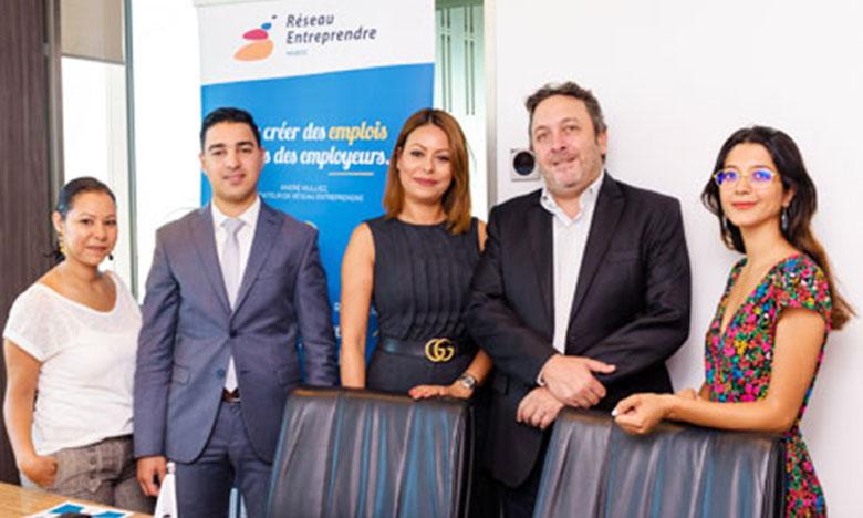 Regus et Réseau Entreprendre Maroc partenaires