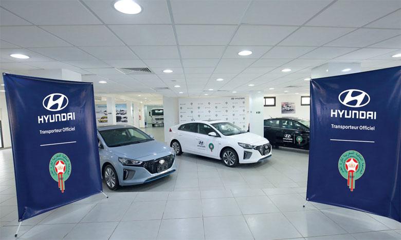 Ioniq hybride allie technologie, confort de conduite et écologie, ce qui fait d'elle, selon Hyundai Maroc, le meilleur choix pour la FRMF.
