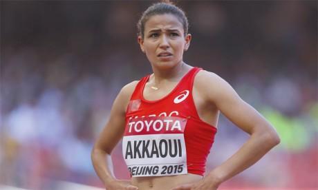 Malika Akkaoui a fait les frais d'un mauvais choix tactique