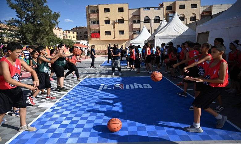 La NBA et le groupe OCP s'allient en faveur de la jeunesse marocaine et rwandaise