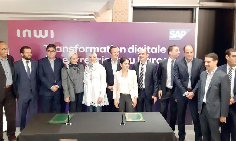 Inwi, premier partenaire SAP au Maghreb